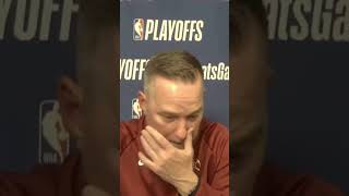 Michael Malone wants a good explanation for Nikola Jokic's Game 4 ejection #Shorts