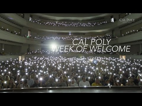 Cal Poly Week of Welcome 2016