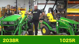 Deere 1025R vs. 2038R Which One Should YOU Buy!?!