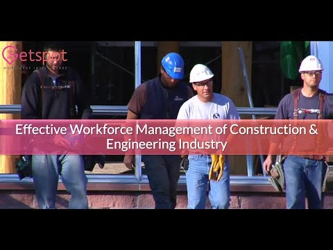 Automation of on-field workforce management for Construction & Engineering Industry