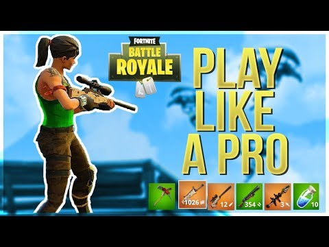 HOW TO WIN | Play Like A Pro (Fortnite Battle Royale)
