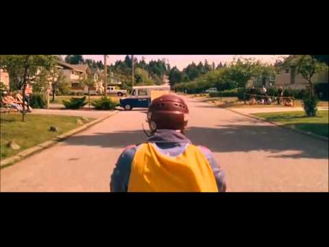 Hot Rod 2007 movie clip mail truck jump HD.