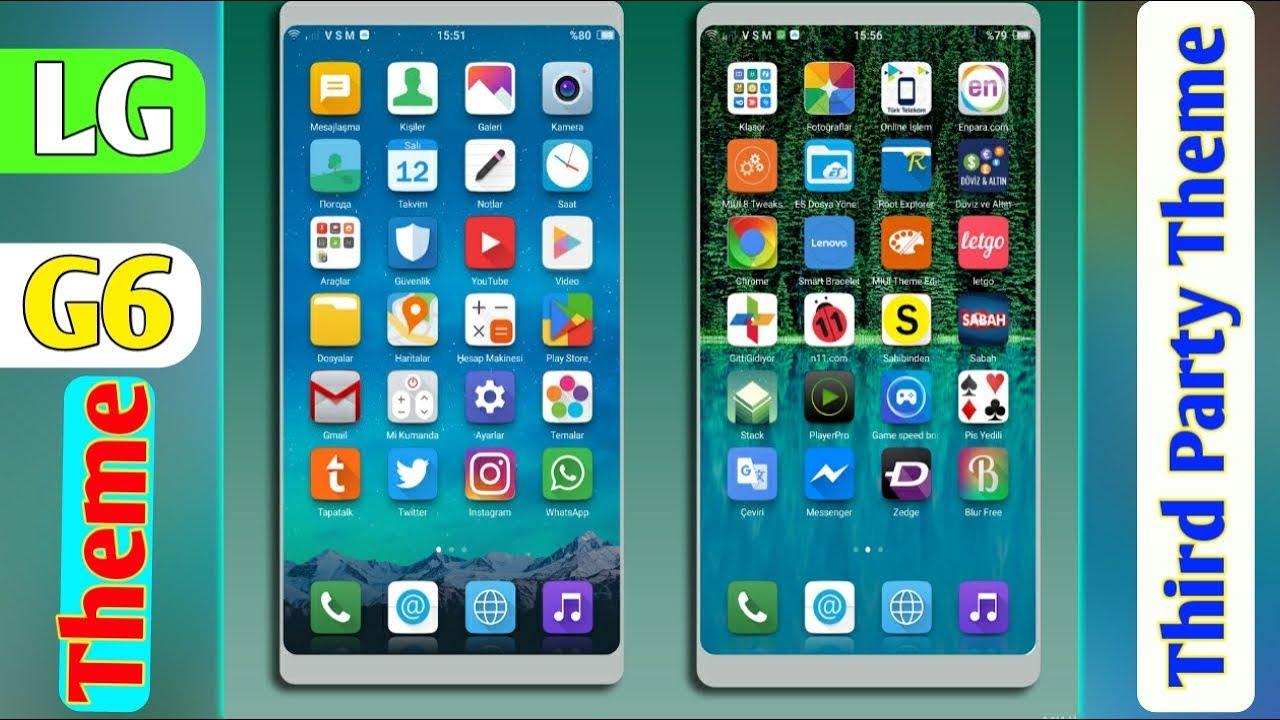 LG G6 Theme   Theme For Any Xiaomi Phones   Miui8 & Miui9   I Know Bangla
