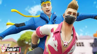 DRIFT AND NINJA ARE BEST FRIENDS!! - Fortnite Short Films