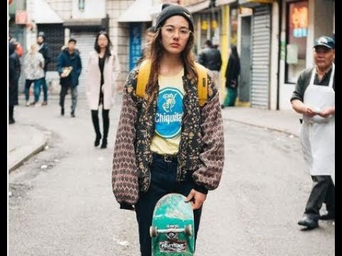 beautiful girl skateboard Rachelle Maktub