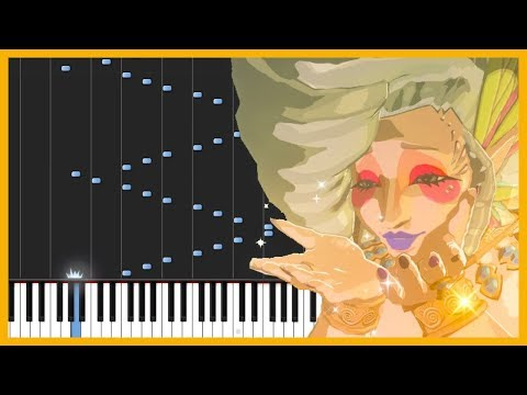 Great Fairy Fountain - The Legend of Zelda: Breath of the Wild [Piano Tutorial] // Anifuse