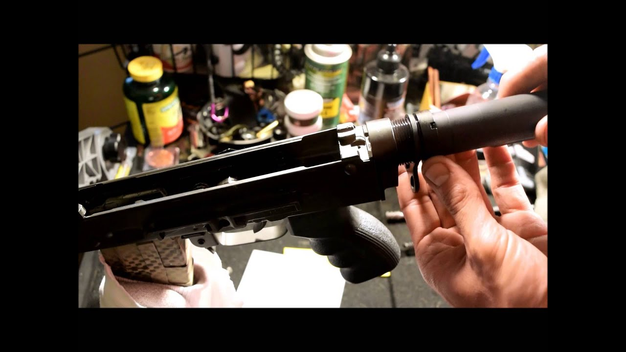 AK to M-4 Stock Adapter by Rifle Dynamics review and installation