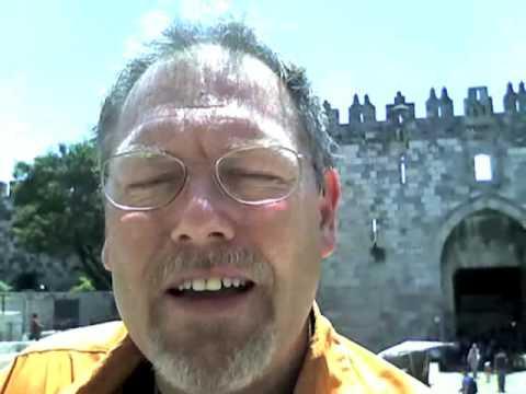 Hello from Jerusalem