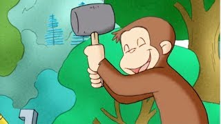 好奇的喬治 🐵Curious George Chinese 🐵 露營 🐵第1季 🐵动画片 🐵卡通 🐵动画 🐵Cartoon 🐵Animation