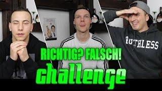RICHTIG! FALSCH! CHALLENGE