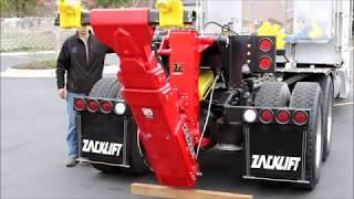 こんな架装見たことない!!!  これを装着すれば普通のトラクタヘッドがレッカー車に変わる。 thumbnail