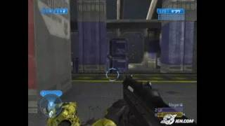 Halo 2 Multiplayer Map Pack Xbox Gameplay - Elongation