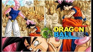 DRAGON BALL MULTIVERSE: MAJIN BUU ABSORBE A GOKU