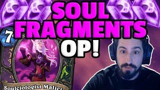 SOUL FRAGMENTS OP! | New Warlock & Demon Hunter Mechanic | Scholomance | Hearthstone