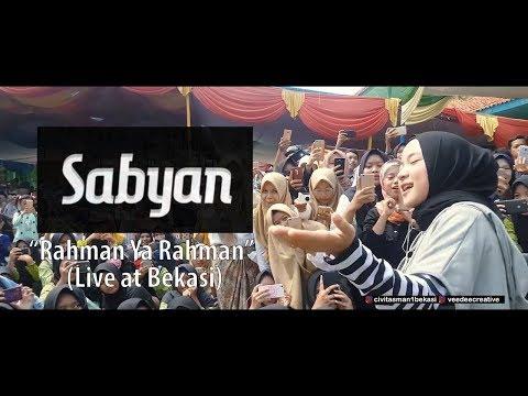 (Live) - Sabyan Rahman Ya Rahman