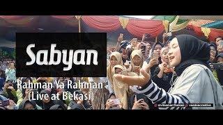 Gambar cover (Live) - Sabyan Rahman Ya Rahman