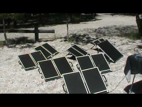 p.26 Holiday Spain Portugal 2017 My Solar Panel Setup At Camping Cerdeira Peneda Gerês Portugal