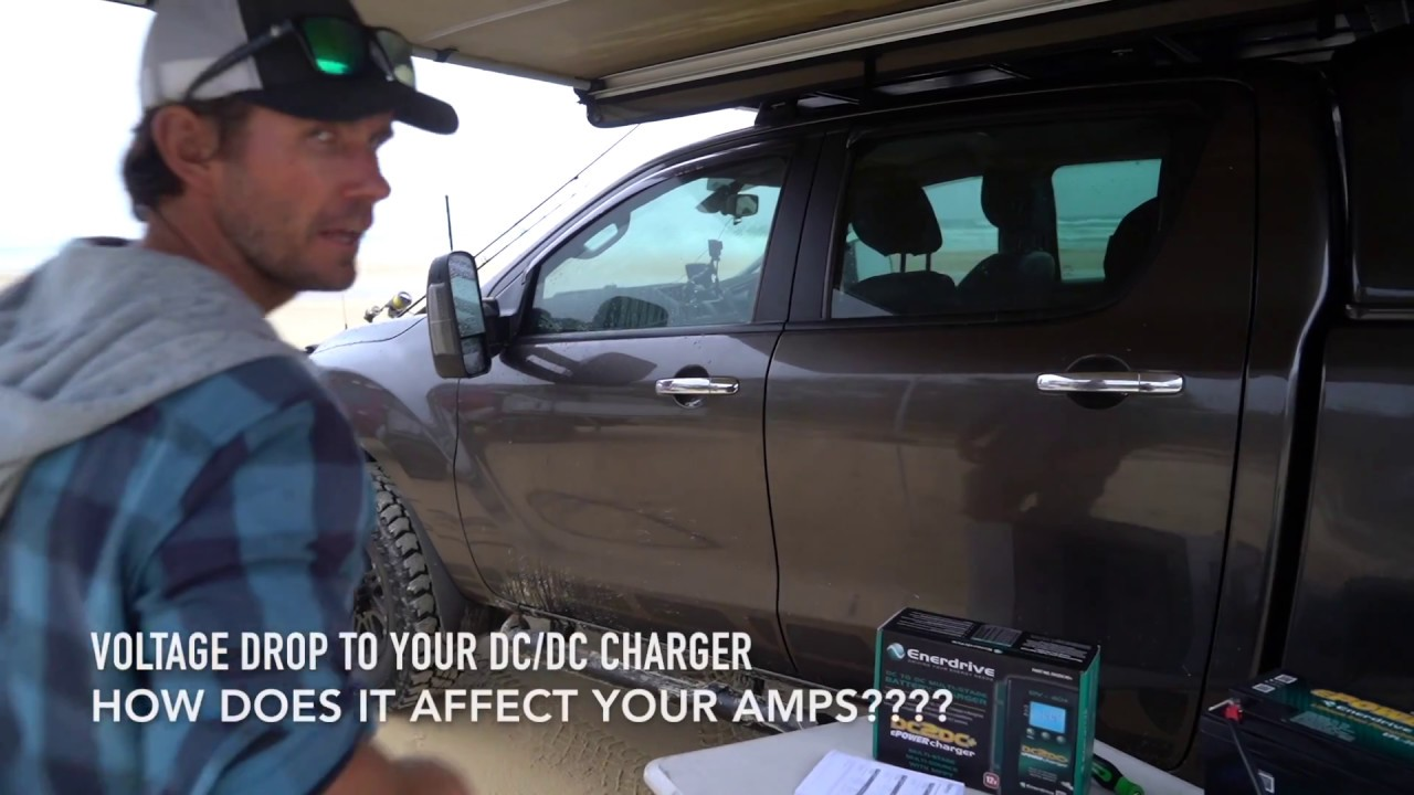 SIZE MATTERS!! How does voltage drop in cable affect the amperage output of a DC/DC charger??