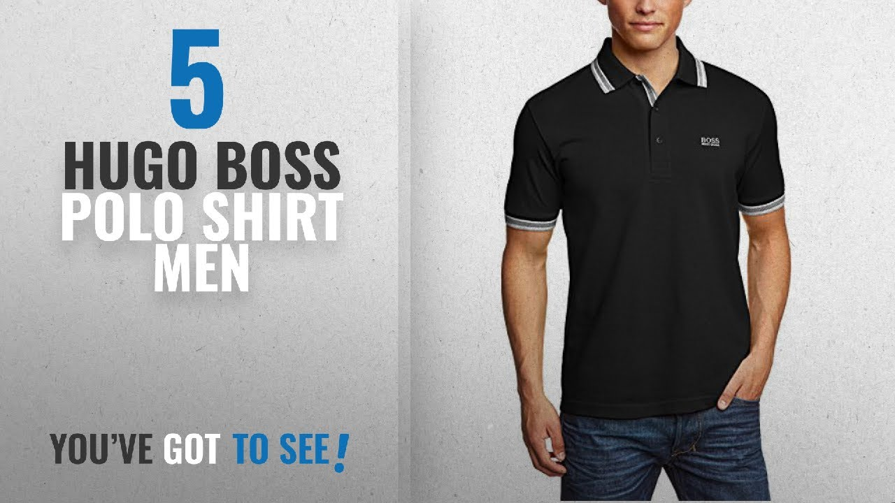 034f7694 Top 10 Hugo Boss Polo Shirt Men [2018]: Hugo Boss - Men's Paddy Pro ...