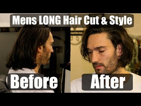 Mens Long Hair Cut & Style Inspiration for 2018