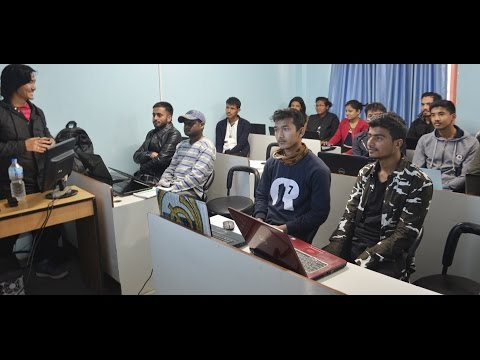 Workshop on visual effects and motion graphics at IT Training Nepal Pvt. Ltd.