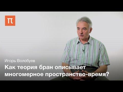 Гипотеза о существовании дополнительных измерений – Игорь Волобуев