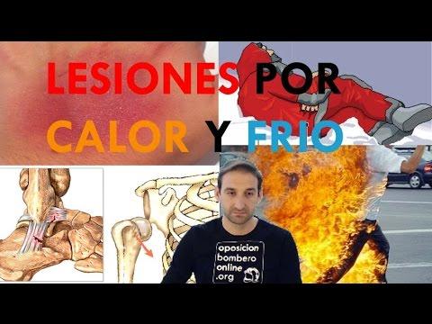LESIONES POR FRIO Y CALOR / TRAUMATISMOS