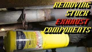 Ford Quick Tips #79: Removing Stuck Exhaust System Components Quick and Easy