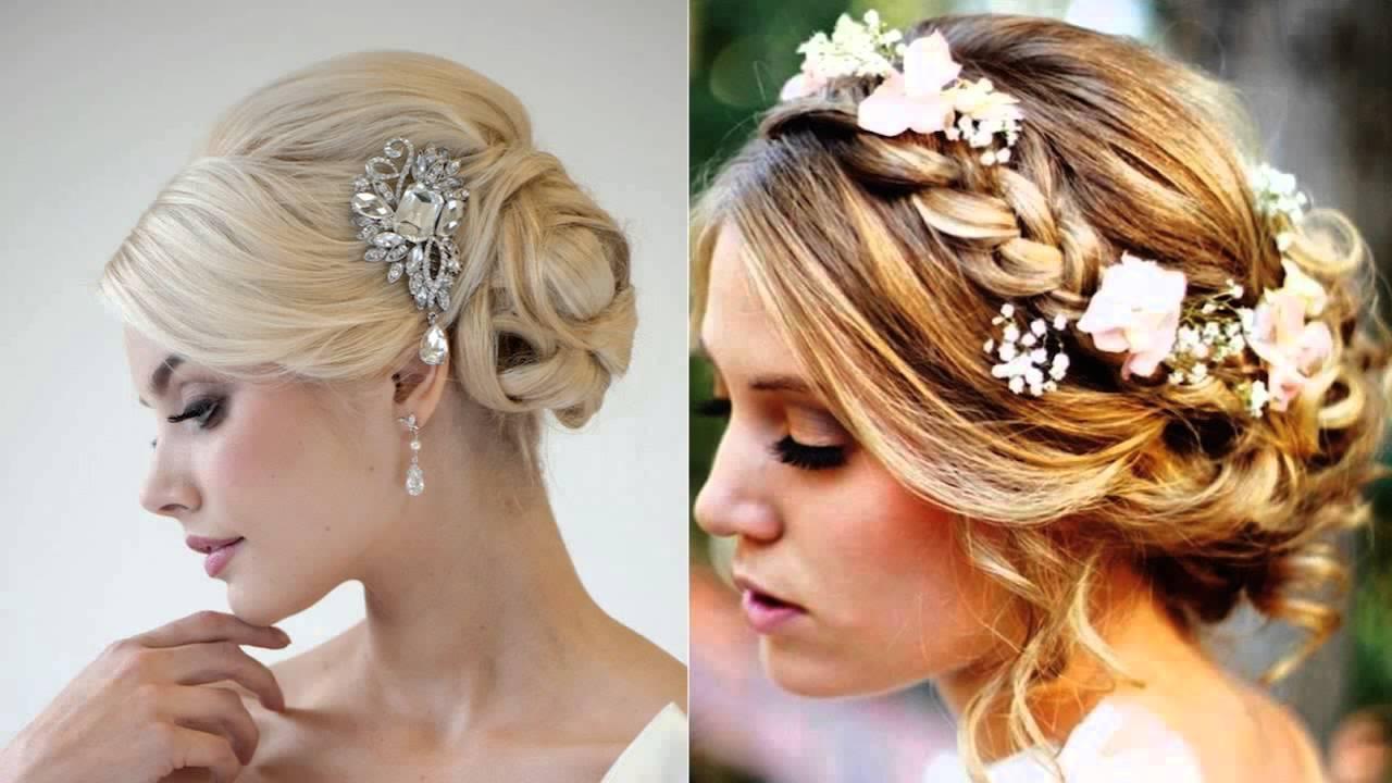 wedding hair up with fringe salon hartley kent - youtube