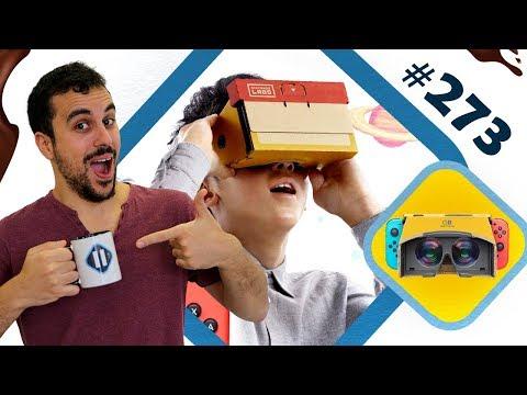 NINTENDO dévoile son kit VR !   PAUSE CAFAY #273