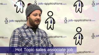 Hot Topic Interview - Sales Associate