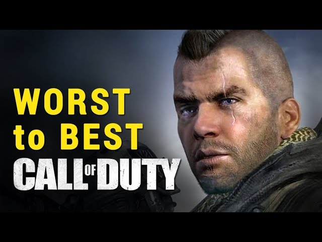 Top CALL OF DUTY Games: Worst to Best Ranking All COD titles | whatoplay