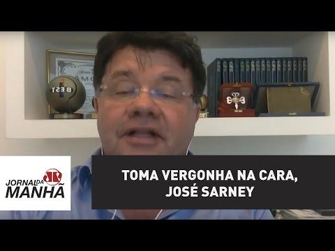 Toma vergonha na cara, José Sarney | Marcelo Madureira