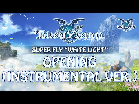 """[ Tales of Zestiria ] Western Opening 1080p - """"White Light"""" by Superfly (Instrumental Version)"""