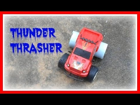 Sharper Image Thunder Thrasher Rc Remote Control All Terrian Vehicle