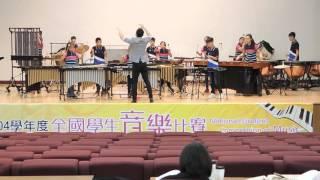 104學年度全國學生音樂比賽中區決賽大元國小第二首演奏曲目:神鬼奇航