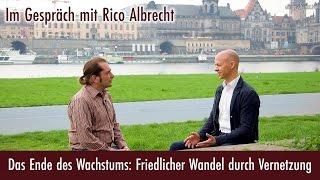 Das Ende des Wachstums: Friedlicher Wandel durch Vernetzung - Rico Albrecht bei eingeschenkt.tv