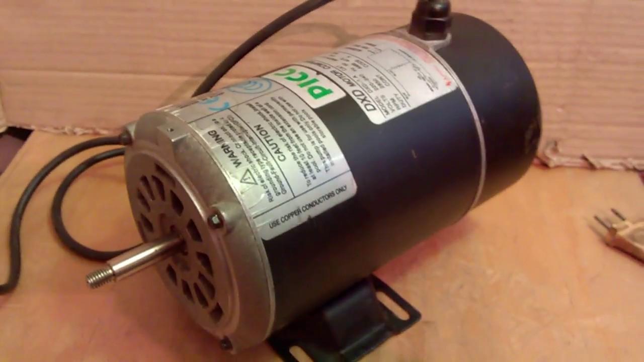 Электродвигатель 220 вольт 1400 оборотов 950 ватт - YouTube