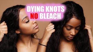 DIY   How to Fake Bleach Knots NO BLEACH   UprettyHair