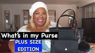 Whats  n My Bag 2019 Michael Kors Tote Deidra Dazzling Plus Size Edition