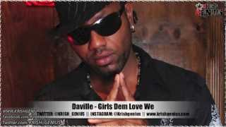 Daville - Girls Dem Love We [Bad Intro Reloaded Riddim] Jan 2013