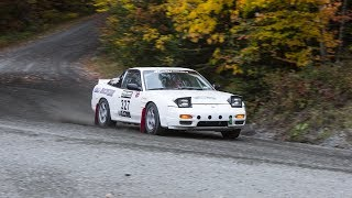 Nissan 240SX, Co-Driving in a Rallysprint [Episode 17] -- /MY LIFE AS A RALLYIST