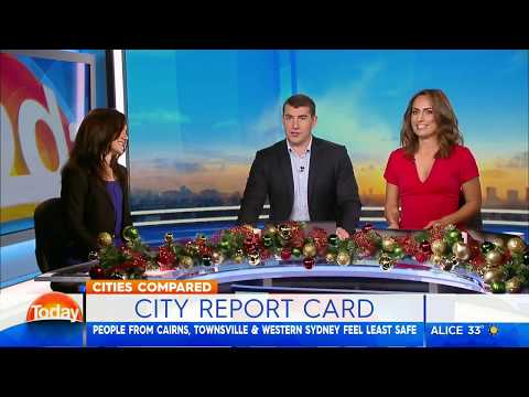 Australian Cities Compared | Claire Madden | Channel 9 The Today Show