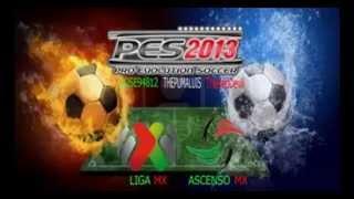 Pes 2013 PSP Liga Mx By L.A Ligas Latinas Mx y ascenso Links Disponible 14/9/14