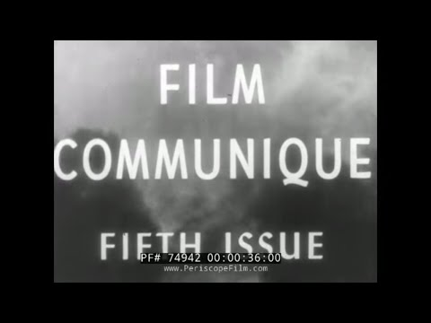 WWII FILM COMMUNIQUE FIFTH ISSUE  P-47 THUNDERBOLTS  TARAWA  74942