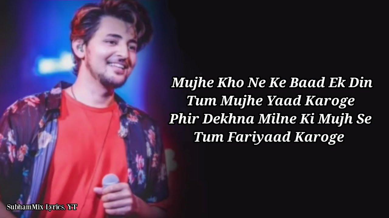 Download Tera Zikr Lyrics   Darshan Raval    AM Turaz   Sourav Roy   Abhishek Sinha   SubhamMix Lyrics