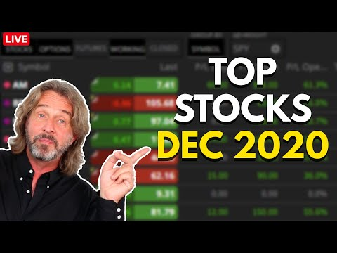 Top Stocks December 2020 – Here's What I'm Trading Right Now
