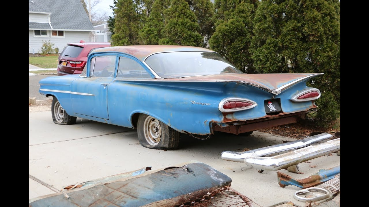 open to offers 1959 chevrolet biscayne project for sale - youtube