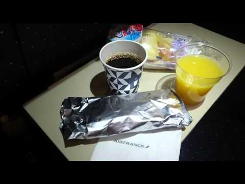 Flying from Paris to Stockholm with  Air France, breakfast | Sony Xperia Z5