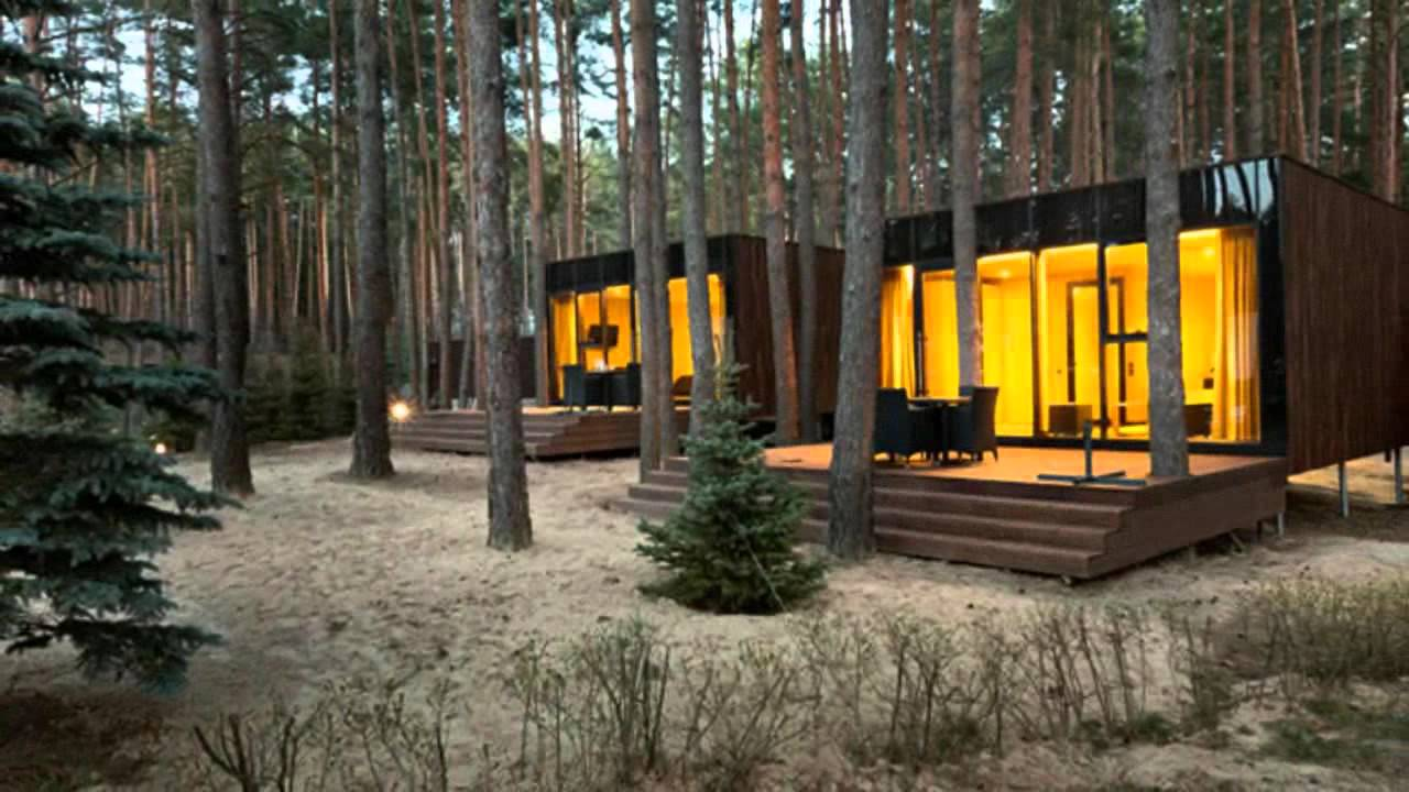 Yod Design Lab S Modern Cabins Mirror The Forest In Ukraine Youtube